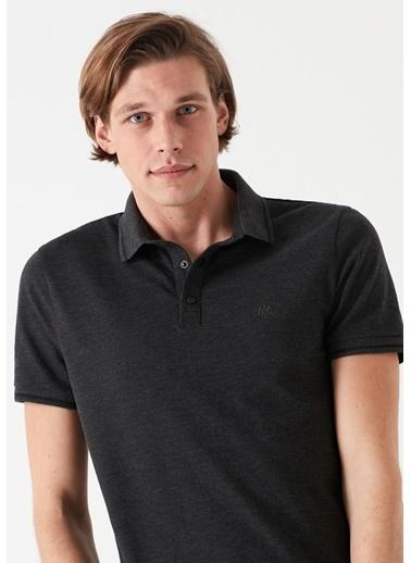 Mavi Tişört Gri